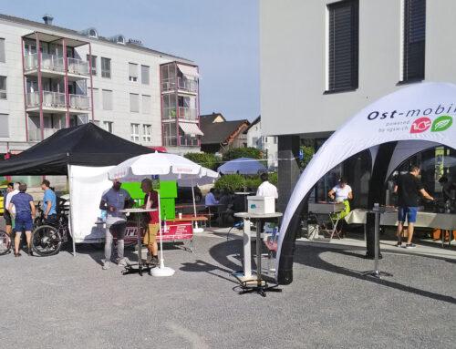 E-Mobilität auf dem Dorfplatz Abtwil
