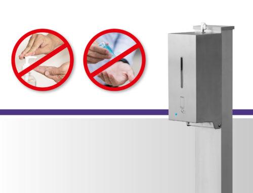 haba desi – automatischer Desinfektionsmittelspender